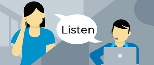 Handle angry customer_always listen